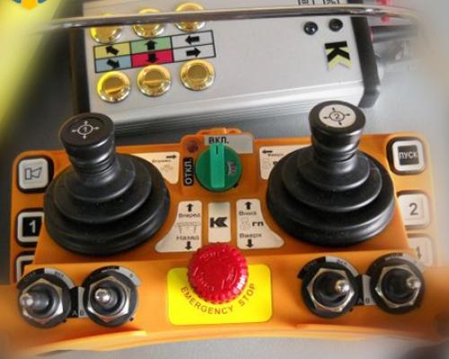 Перевод крана на радиоуправление