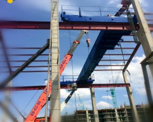 Краны мостовые ремонтные работы