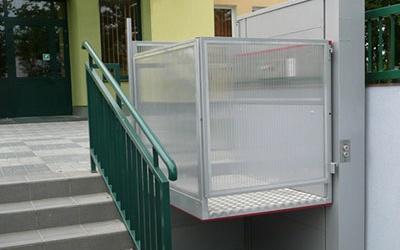 Подъемник для поднятия инвалидов лестничный