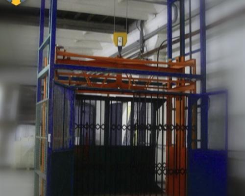 Подъемник для склада